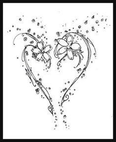 Broken Heart Tattoos for Women   Heart Tattoos With Image Heart Tattoo Designs Especially Broken Heart ...