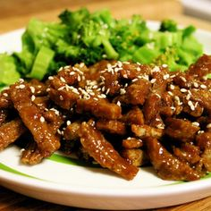 Crispy Sweet and Sour Seitan Recipe