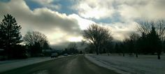 Slightly eerie drive to work this morning. But still so beautiful. Gotta love Laradise!