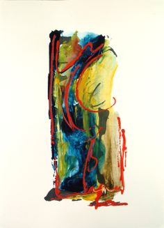 #Modern #Art Painting by Petros Devolis (2011) - Diluted #acrylic colors on aquarelle paper 29,5 x 39 cm (11,61 x 15,35 in)  www.facebook.com/devolisarts www.about.me/devolisarts www.twitter.com/devolisarts