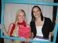 Dr. Seuss baby shower: photo booth guest book