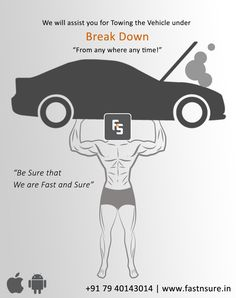 Fast N Sure is the best Road Assistance Services, Towing Services, Car Repair Services & Vehicle Breakdown Services Providing Company in Ahmedabad, Gujarat & Jodhpur, Rajasthan Car Repair Service, Jodhpur, Memes, Vehicles, Automobile Repair Shop, Rolling Stock, Meme, Vehicle