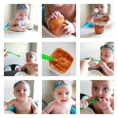 The key to a feeding baby solids is starting out with baby food that had more texture, like Gerber® FOODS® Lil' Bits™ Recipes, so she can learn how to chew safely. Feeding Baby Solids, Solids For Baby, The Joys Of Motherhood, Baby Eating, Crazy Kids, Infant Activities, Baby Food Recipes, Something To Do, Parenting