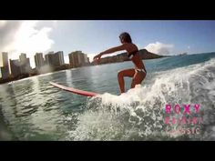 "ROXY uses Jess Penner's song, ""Bring Me the Sunshine"" on their June 15-17 2012 Queens Beach Waikiki Classic promo."