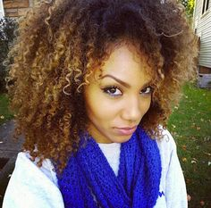 Alyssa // 3C Natural Hair Style Icon | Black Girl with Long Hair