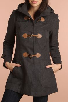 4 Now Fashions Arianna Anorak Coat In Heather Gray