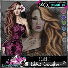 "Tube ""SCARLET"" by Ishika Chowdhury  http://scrapsncompany.com/index.php?main_page=product_info&cPath=113_425&products_id=18168"
