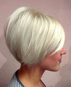 Short bob hairstyles for 2012 – 2013 I'm really thinking about going dramatically shorter with my hair. I love this. Just scared it won't look good with my face shape.