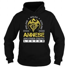 Awesome Tee ANNESE Legend - ANNESE Last Name, Surname T-Shirt T shirts