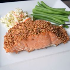 Fair warning folks: there's deliciousness ahead. The kind that comes when you combine a crispy, savoury coating with fresh Atlantic salmon. It's gluten-free and guilt-free goodness.