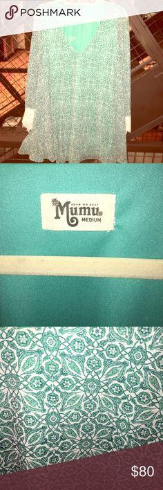 Show Me Your Mumu - Portabella Mumu Dress/Tunic Show Me Your Mumu - Portabella Mumu Dress/Tunic. Worn once! Show Me Your MuMu Tops Tunics