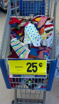 Hurry over to Rite-Aid for $.25 Socks!  (Including Slipper Socks)  Perfect stocking stuffers :)