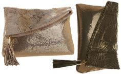 Lovely metal mesh clutches from the kings of metal mesh, Whiting & Davis.