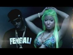 Nicki Minaj - Beez In The Trap (Explicit) ft. 2 Chainz, Love Nicki, she got some booty! Love the green hair!