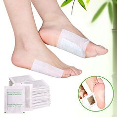 #1 Best Detox Foot Pads on Amazon by Asako ® - All Certified Organic & PATENTED Ingredients For the Purest Cleanse - Carbon Titanium Adhesives For Maximum Beneficial Ions - Money Back Guarantee
