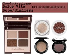 """""""*REQUEST* Dolce Vita Dupes"""" by littlemix-beautstyle ❤ liked on Polyvore featuring beauty, Charlotte Tilbury, L'Oréal Paris and MAC Cosmetics"""