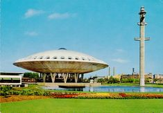 Dutch Space Age architecure: The 1966 Evoluon in Eindhoven.