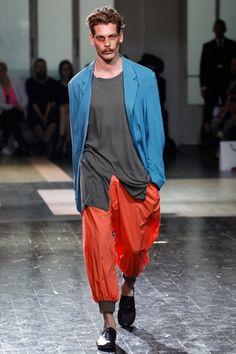 Yohji Yamamoto 2012ss mens wear