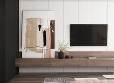Behance is the world's largest creative network for showcasing and discovering creative work Living Room Tv Cabinet, Ikea Living Room, Living Rooms, Apartment Interior Design, Interior Design Living Room, Living Room Designs, Tv Wall Decor, Room Decor, Tv Wanddekor
