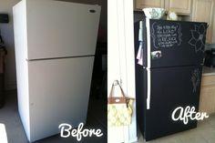 Transforme o seu frigorífico.