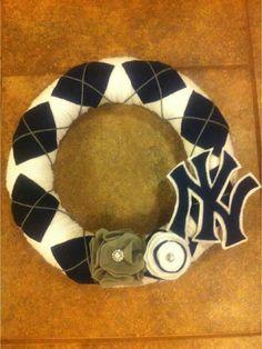 New York Yankees Wreath