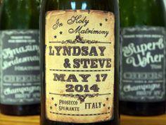 Personalised Wine Bottle Labels From Bazaar