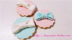 Do you still want to eat it? Fondant Cookies, Iced Cookies, Cupcake Cookies, Sugar Cookies, Wedding Designs, Wedding Styles, Wedding Ideas, Doll Party, Cute Cupcakes
