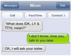 dont swipe 11 Reasons Why Parents Should Never Be Allowed to Text 20 - https://www.facebook.com/diplyofficial