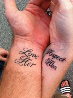 Marriage tattoos