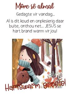 Goeie More, Afrikaans, Good Morning, Verses, Night, Words, Buen Dia, Bonjour, Scriptures