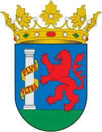 Escudo de Badajoz - High Middle Ages, City Logo, Mystery Of History, Spain And Portugal, Floral Border, Moorish, Coat Of Arms, Herb, Badge