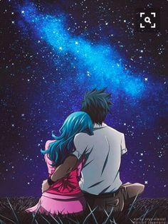 You're my second universe. - Gruvia ❤