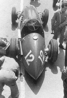 1953 French GP - Luigi Villoresi, Scuderia Ferrari, Ferrari 500 6th
