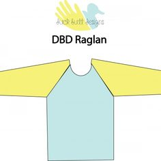 Free Raglan T-shirt pattern 18m-12y | Duck Butt Designs