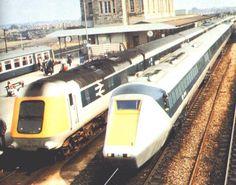 Trackside Classic: 1976 British Rail Inter City 125 High Speed Train – Still Setting The Standard Electric Locomotive, Diesel Locomotive, Rail Transport, Public Transport, British Rail, British Isles, National Rail, Europe Train, Railroad Pictures