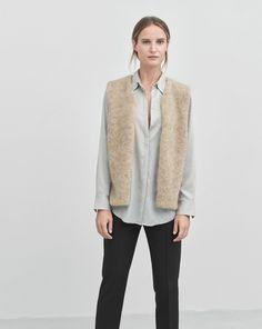 Mohair Vest Dove - Knitwear - Woman - Filippa K