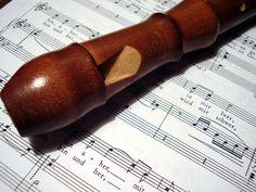 flauta doce caseira