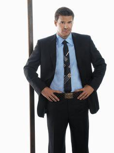 "Bones S1 David Boreanaz as ""Seeley Booth"""