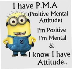 Image about quote in minions by Anastasia on We Heart It Funny Minion Memes, Minions Quotes, Minion Humor, Minion Sayings, Minion Pictures, Lol Pictures, Positive Mental Attitude, Minions Love, Minions Friends