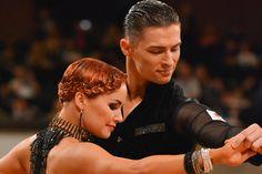 Nina Bezzubova - short hair for latin / ballroom dancers