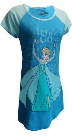 WebUndies.com Disney's Frozen Elsa Night Shirt