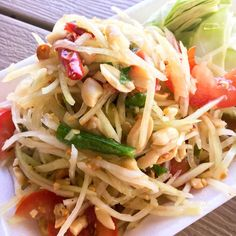 Thai Green Papaya Sa