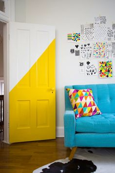 Break out the paint and make a bold first impression.