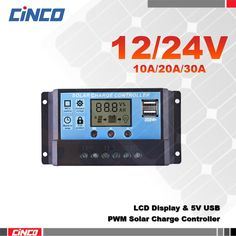 10A20A30A 12V/24V solar charge controller,LCD display, dual USB output 5V,solar cell panel charger to solar battery power supply