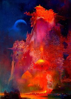 Parapet In Golden Light // Paul Lehr