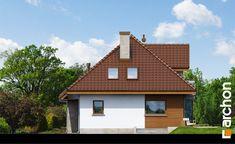 Elewacja ogrodowa projekt dom w rukoli n ver 2 267