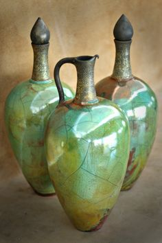 Raku ceramic creations from Zulululu, located at the Piggly Wiggly Centre along the Midlands Meander. See more: www.midlandsmeander.co.za