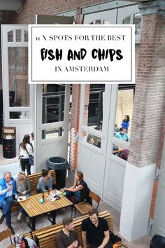 """Wondering where to find the best fish & chips in Amsterdam? We made a list on http://www.yourlittleblackbook.me/fish-chips-in-amsterdam/ with our favourite spots you have to try this summer! Planning a trip to Amsterdam? Check http://www.yourlittleblackbook.me/ & download """"The Amsterdam City Guide app"""" for Android & iOs with over 550 hotspots: https://itunes.apple.com/us/app/amsterdam-cityguide-yourlbb/id1066913884?mt=8 or https://play.google.com/store/apps/details?id=com.app.r3914JB"""