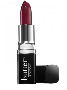 """Butter London Tinted Lip Balm in Black Cherry: """"The colour pay off of this is really impressive, it's nice and moisturising, plus it has a gorgeous finish; it's slightly balmy without being overly so and it can be built up for a more intense look. It doesn't last as long as I'd have hoped, but it does leave a nice berry stain behind. This is definitely going to be my go-to autumn shade!"""""""