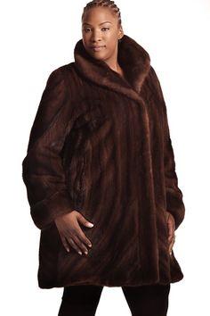 How I feel in my faux fur coat=like a pumpkin